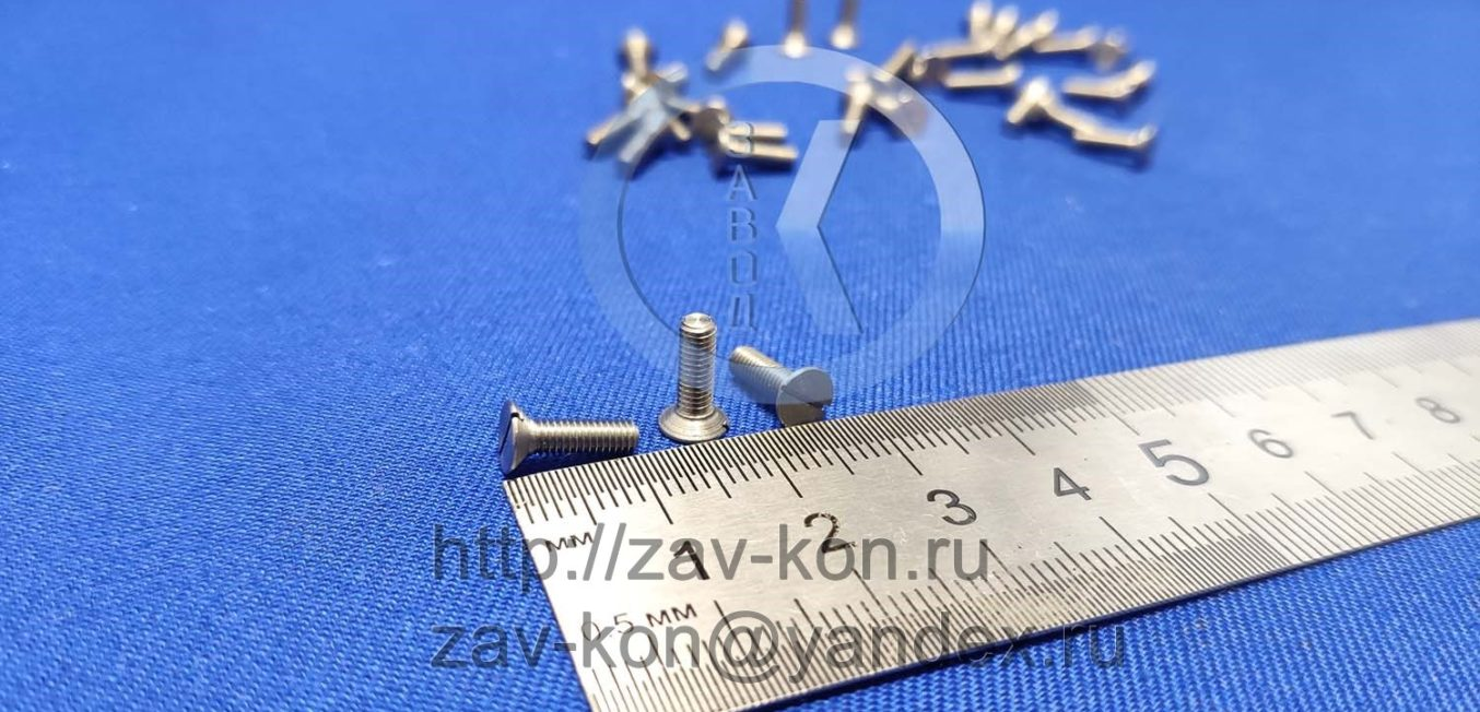 Винт В.М3-6gx10.58 ГОСТ 17475-80 (2)