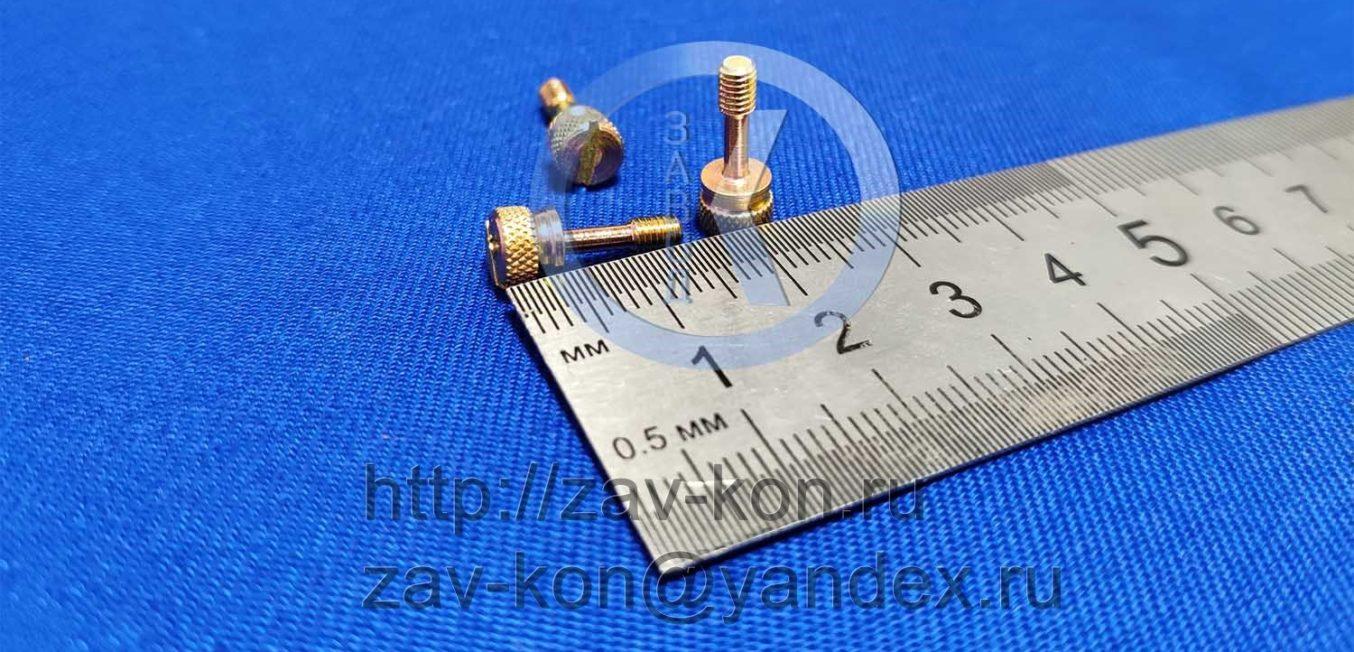 Винт М3-6gx10.58.016 ГОСТ 10344-80 (2)