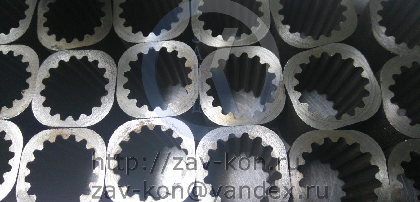 Втулка металлическая с внутренней шестерню