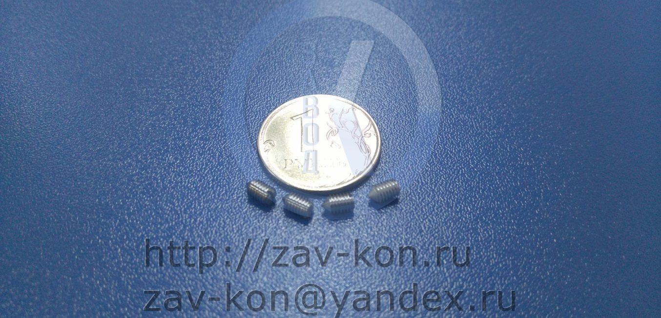 Винт ВМ3-6gх5.21.12Х18Н10Т.11 ГОСТ 1476-84