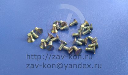 Винт М3-6 КС7.734.000-01 СКИД.758181.001-01 ОСТ 4.209.007-82