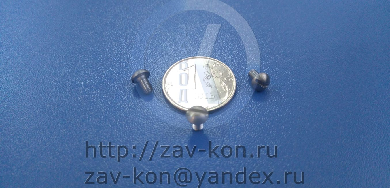 Винт АМ3-6gx5.23.14Х17Н2.11 ОСТ 95 1438-75
